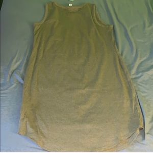 F21 ribbed olive dress